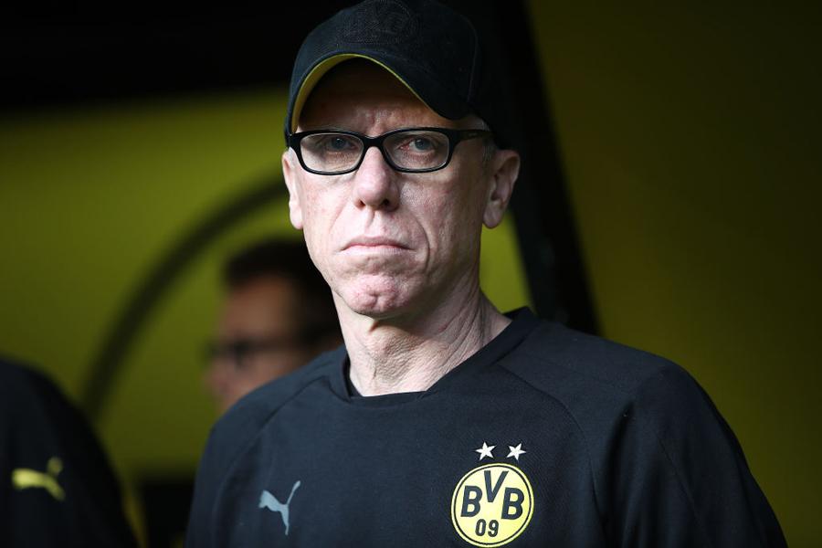 ドルトムントのシュテーガー監督が今季限りの退任を明言【写真:Getty Images】