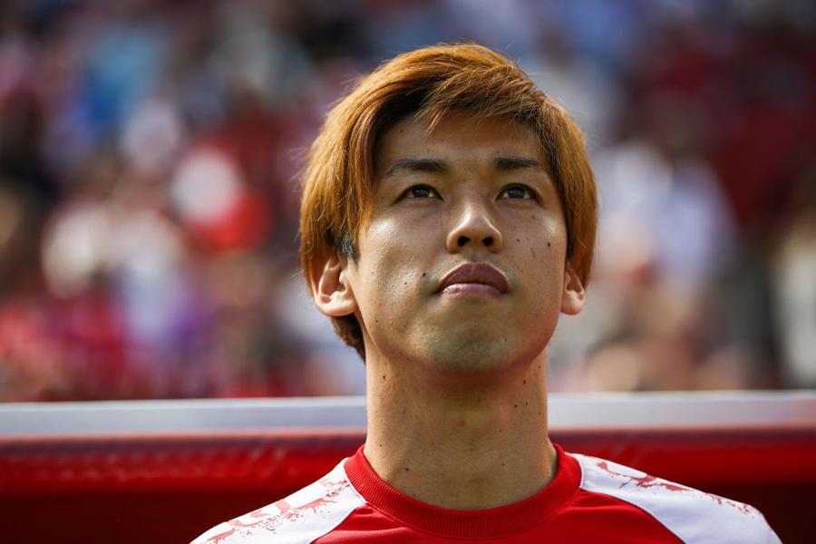 日本代表FW大迫は、ブレーメンへの移籍が決まった【写真:Getty Images】