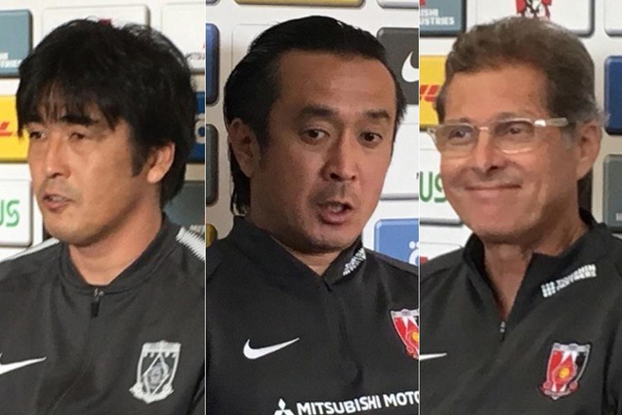 ルヴァンカップグループステージ中に、監督3人が指揮を執る激動の2カ月半であった【写真:Football ZONE web】