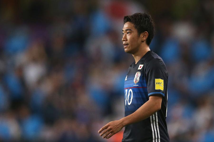 昨年10月以来の代表復帰を果たした香川【写真:Getty Images】