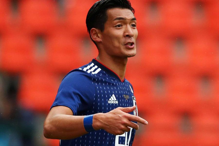 浦和レッズの日本代表DF槙野智章、21日からスタートするロシア・ワールドカップ(W杯)の最終メンバー入りへ力を込めた【写真:Getty Images】
