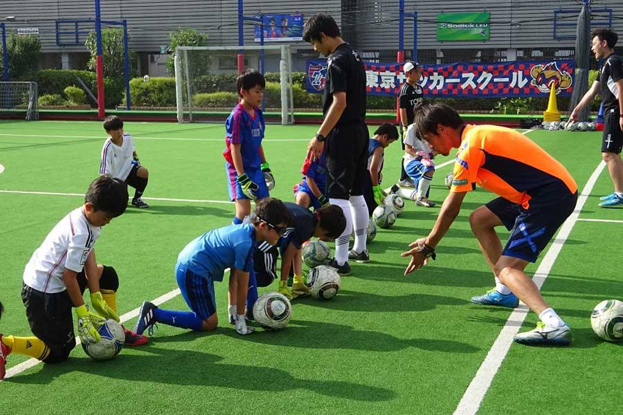 FC東京が「GKクリニック」を開催【写真:(C)F.C. TOKYO】