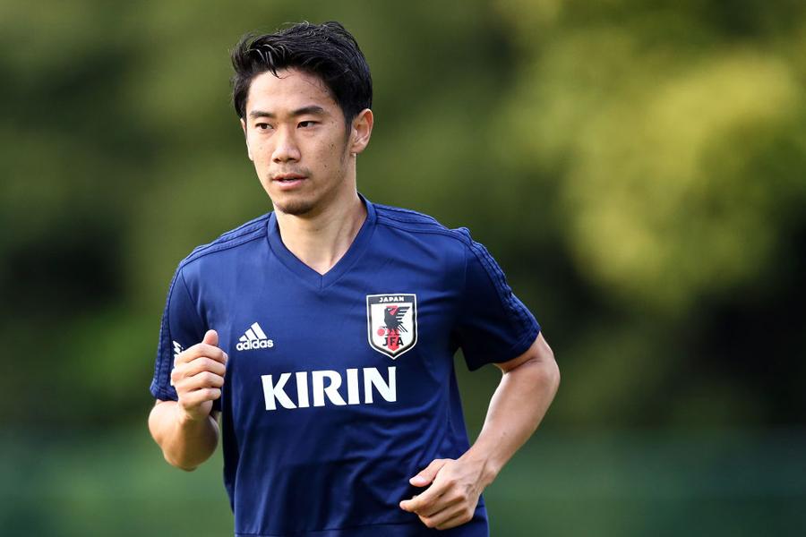 代表復帰の香川は、「これからもっと上がっていく」とコンディションに手応えを感じている【写真:Getty Images】