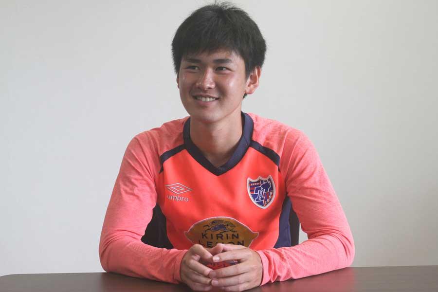 """平川は、FC東京U-18出身の""""最高傑作""""とも呼ばれる逸材である【写真:Football ZONE web】"""