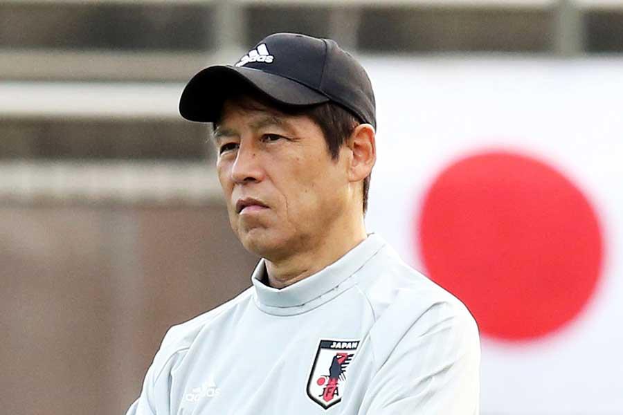 西野ジャパン初陣はガーナ相手に0-2完敗となった【写真:Getty Images】