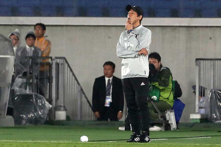 「悲惨な夜」と西野ジャパン初陣に、英紙が厳しい評価を下している【写真:AP】