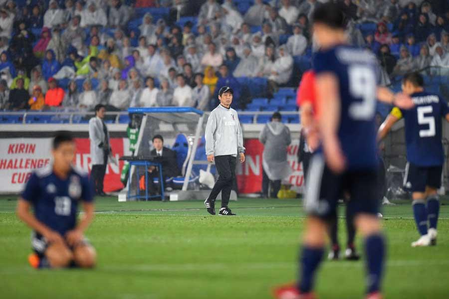 韓国メディアが「監督交代も無駄に」と日本代表を酷評している【写真:Getty Images】