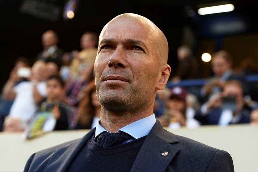 レアル・マドリードのジダン監督が辞任を発表した【写真:Getty Images】
