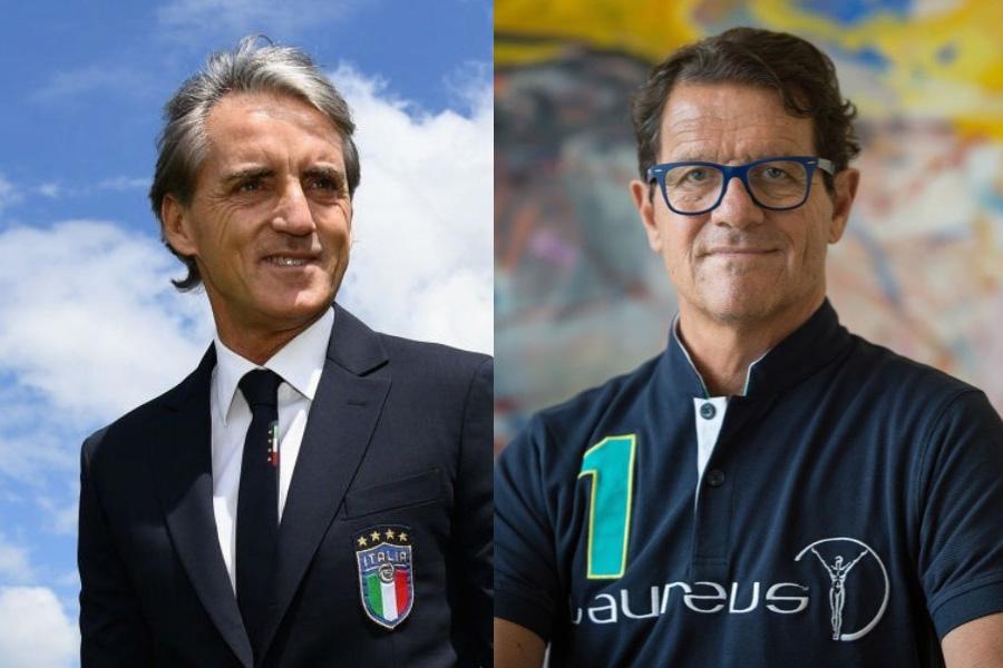 カペッロ氏が、マンチーニ新体制のイタリア代表について言及した【写真:Getty Images】