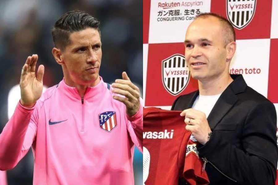 フェルナンド・トーレスが「日本でイニエスタと再会できる」と、Jリーグ参戦の噂を海外メディアも報じている【写真:Getty Images】