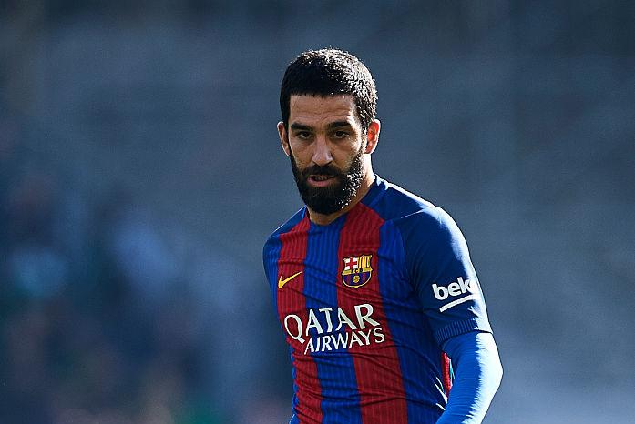 元バルセロナMFトゥランが、16試合出場停止処分を受けた(写真はバルセロナ時代のものです)【写真:Getty Images】
