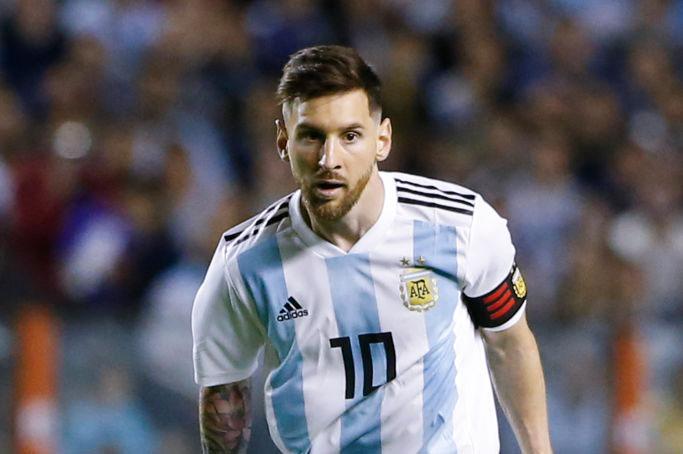 アルゼンチン代表FWメッシは、ハイチ戦でハットトリックを記録し、W杯に弾みをつけた【写真:Getty Images】