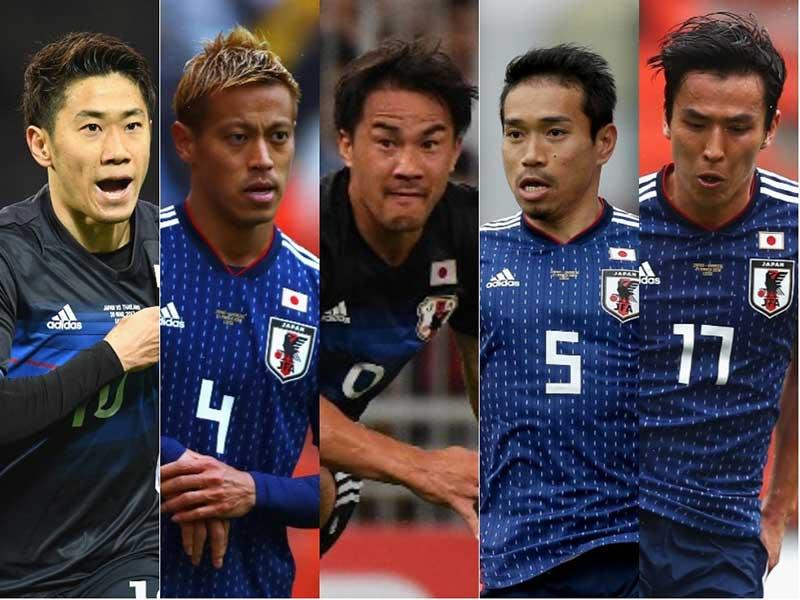 「FOXスポーツ」アジア版は日本代表の5選手を「ベテラン・クインテット(五銃士)」と注目している【写真:Getty Images】