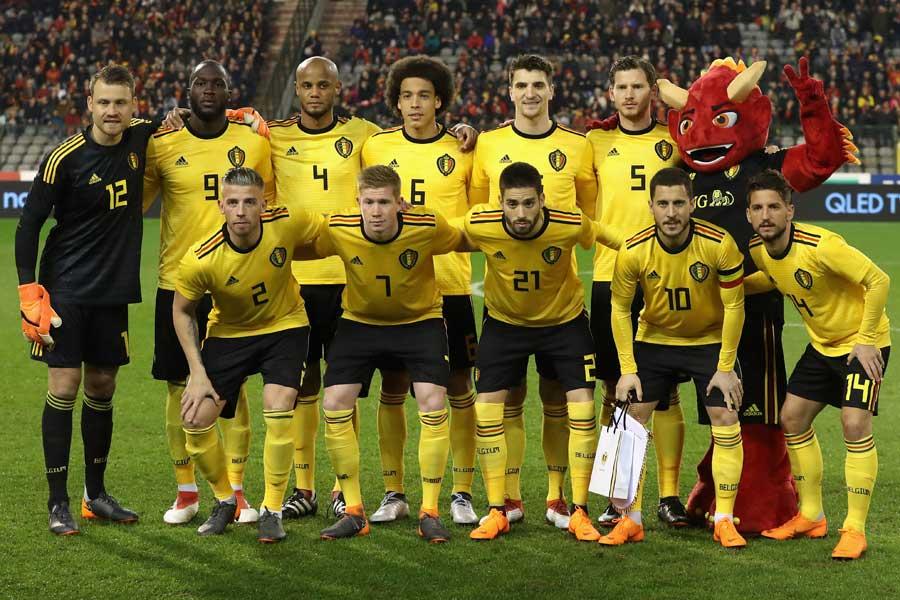 ベルギー代表、前代未聞のミスでロシアW杯に臨む最終メンバー23人が発覚【写真:Getty Images】