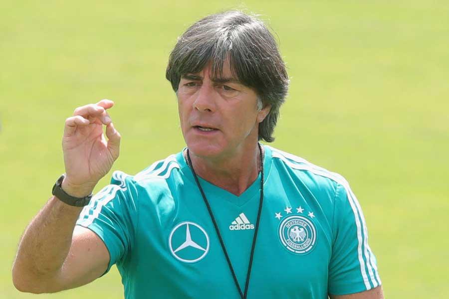 ドイツ代表のレーブ監督は、レアル・マドリード新監督の可能性を完全否定した【写真:Getty Images】