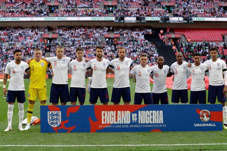 イングランド代表がロシアW杯で切り開く新境地とは?【写真:AP】
