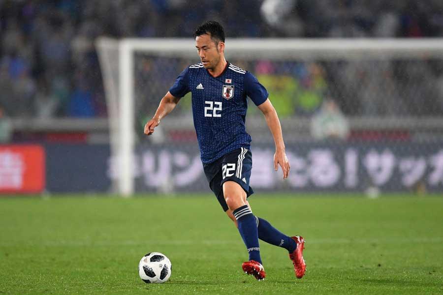 AFC公式が守備の要である吉田麻也をW杯のキーマンに指名している【写真:Getty Images】