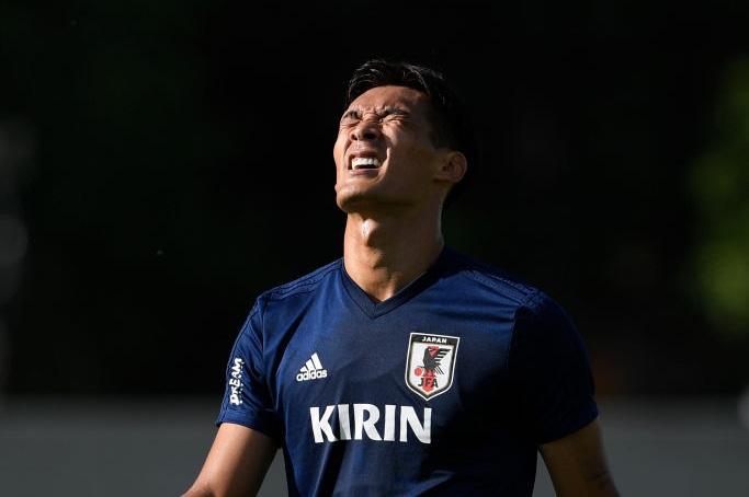 槙野が投稿した日本代表戦士の「大合唱」動画が反響を呼んでいる【写真:Getty Images】