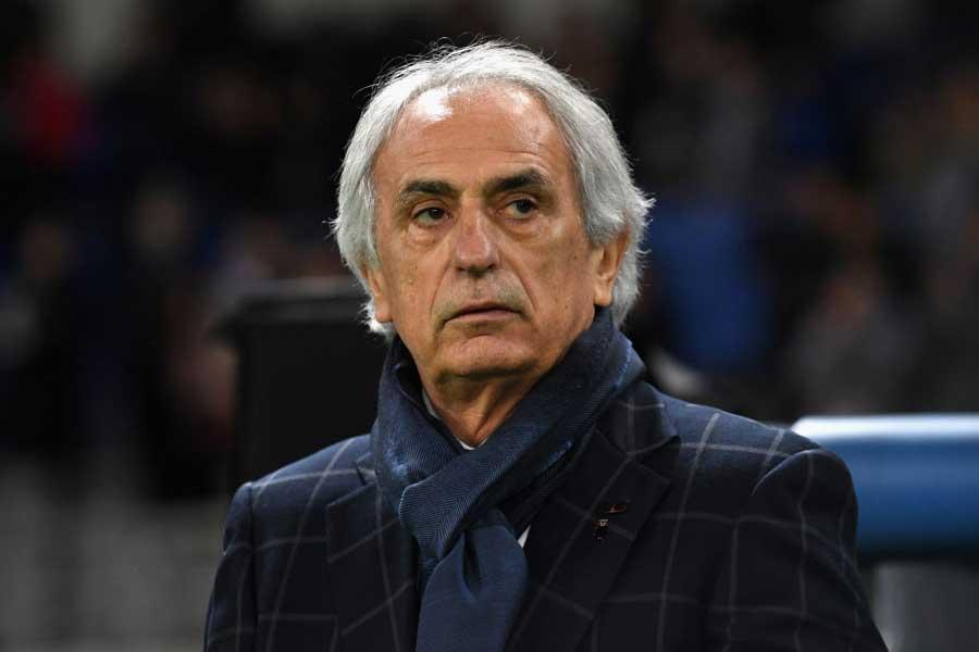 フランス1部のナントがハリル氏の招聘を試みているという【写真:Getty Images】