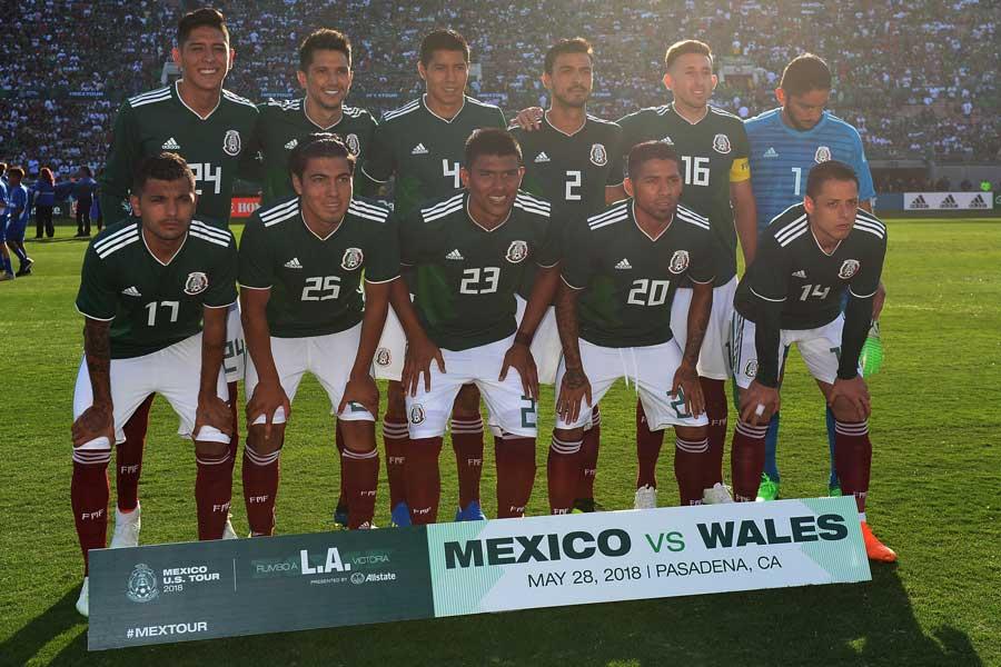 メキシコ代表が、ロシアW杯を前にスキャンダルに揺れている【写真:Getty Images】