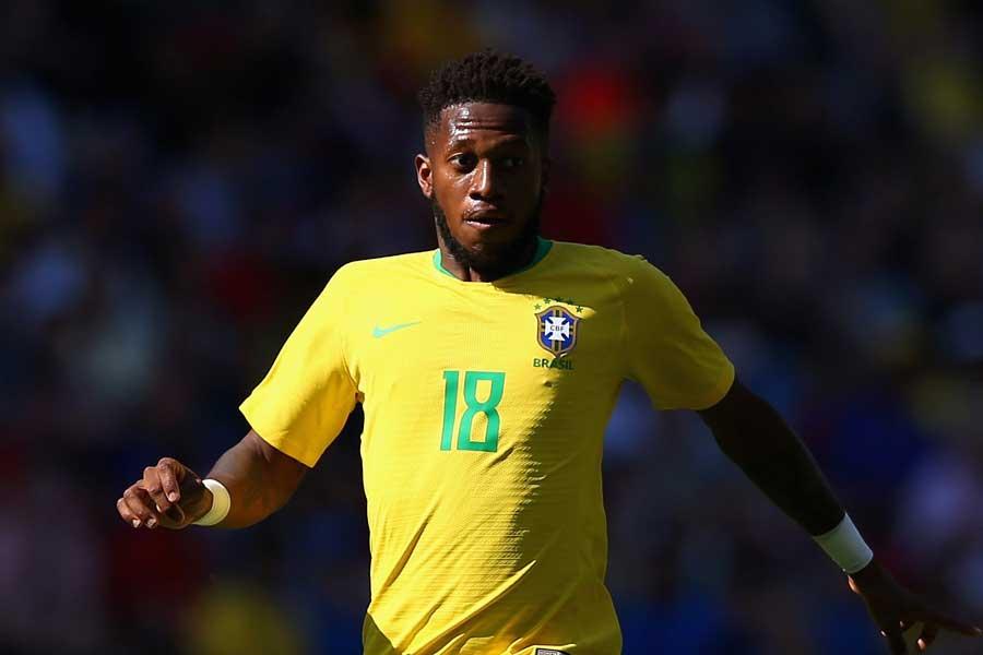 ロシアW杯のブラジル代表に名を連ねたフレッジ【写真:Getty Images】