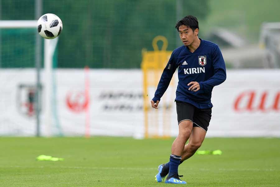 香川は日本代表にとって「必要不可欠な存在」と評されている【写真:Getty Images】