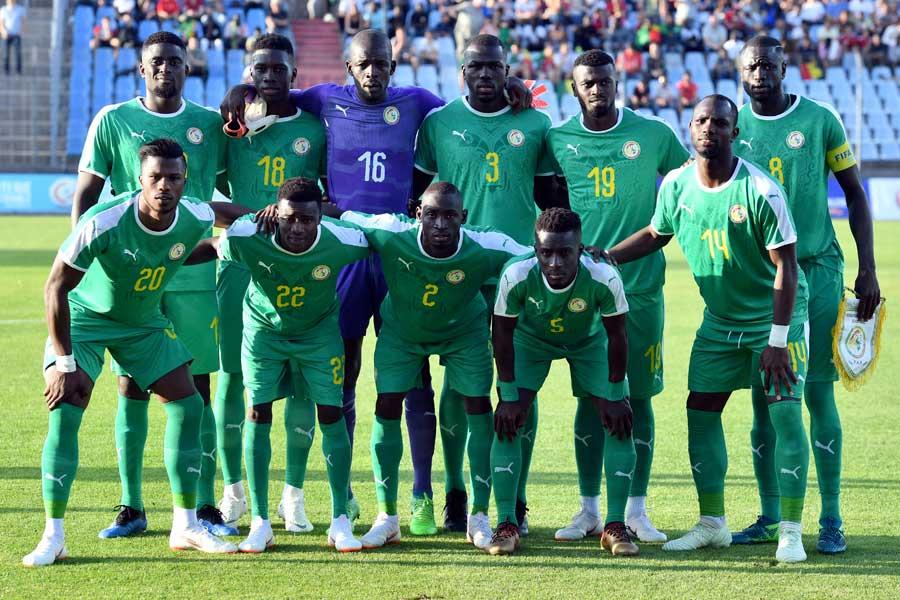 日本がW杯グループステージ第2戦で対戦するセネガル代表【写真:AP】