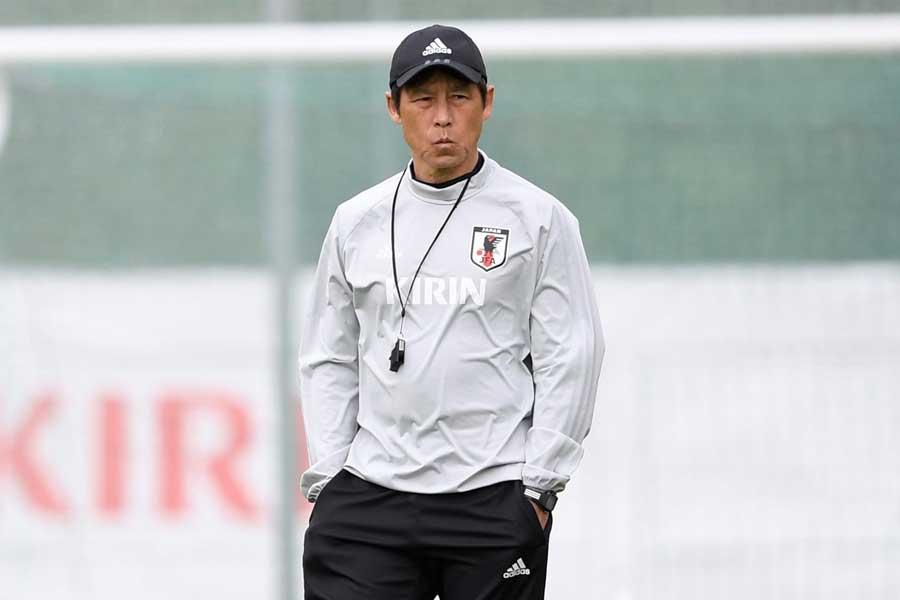 西野監督率いる日本代表は、現地時間8日にスイスと戦う【写真:Getty Images】