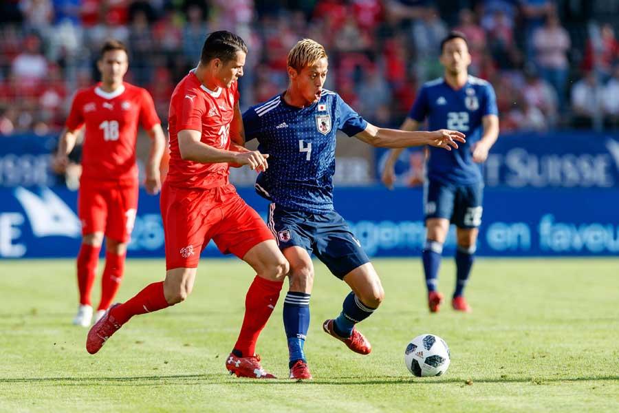 西野J、強豪スイスに0-2完敗【写真:Getty Images】