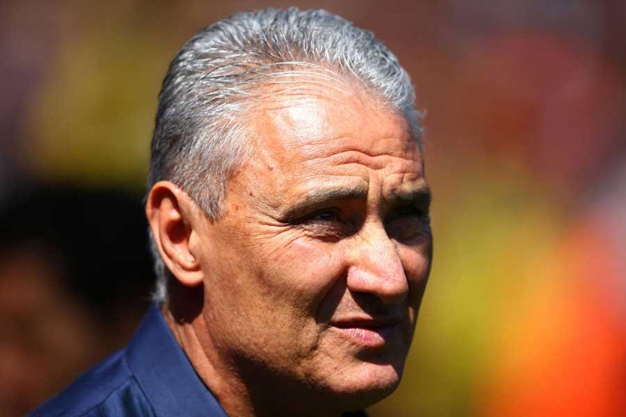 レアル・マドリードの新指揮官に、ブラジル代表のチッチ監督が浮上している【写真:Getty Images】