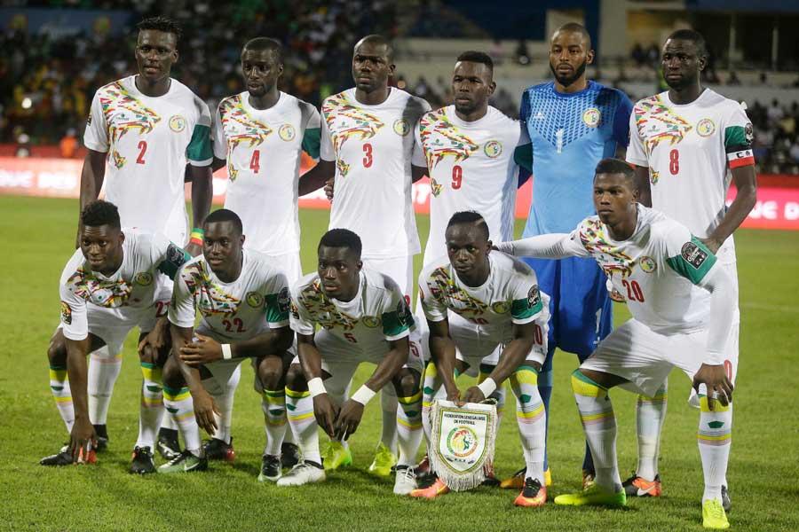 セネガルは国際親善試合で韓国を2-0で下した【写真:AP】