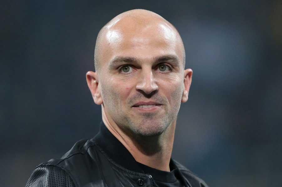 コロンビア代表のコーチに就任したカンビアッソ氏が西野Jを現地視察している【写真:Getty Images】