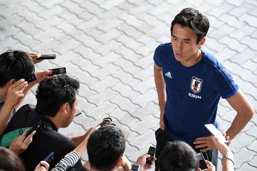 長谷部が西野ジャパンのミーティング事情について言及した【写真:Getty Images】