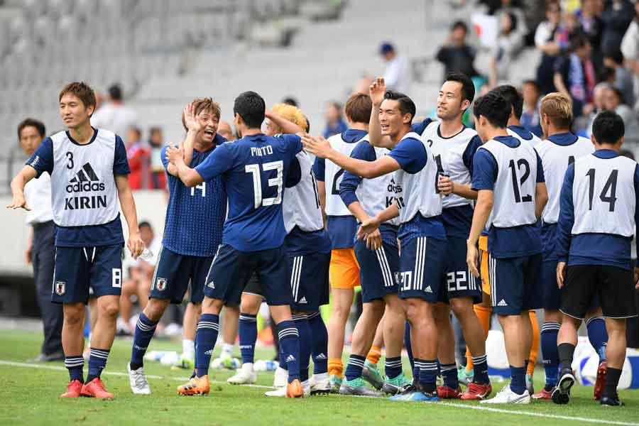 日本代表がパラグアイ代表に4-2で勝利!【写真:Getty Images】