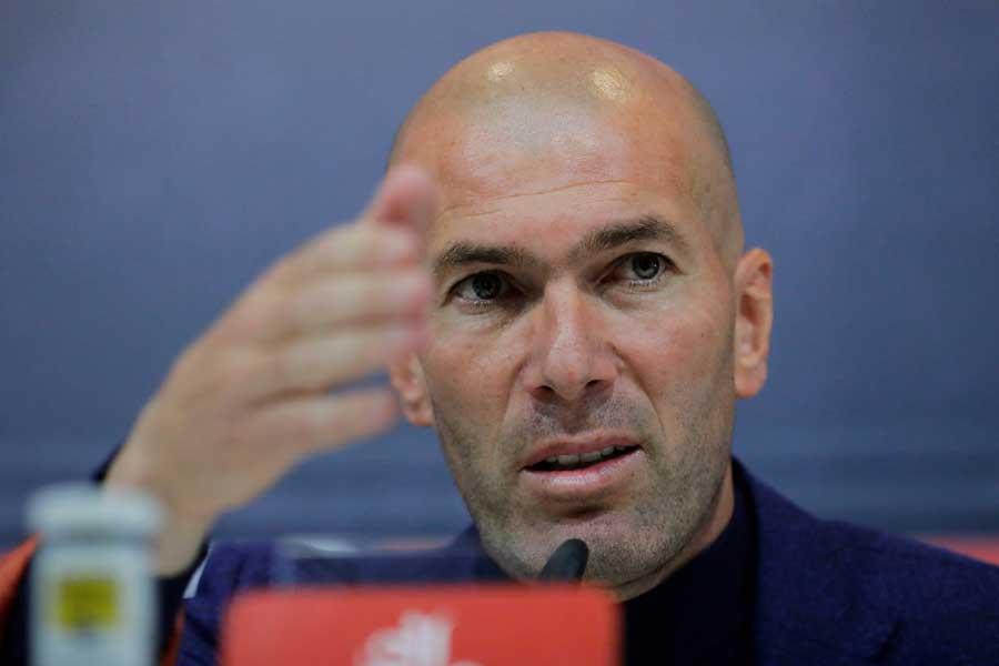 レアルの監督を退任したジダン氏が自身の去就について言及した【写真:Getty Images】