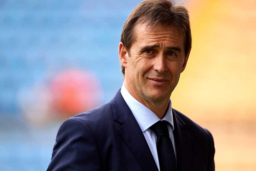W杯開幕前日にスペイン代表監督を解任されたロペテギ氏【写真:Getty Images】