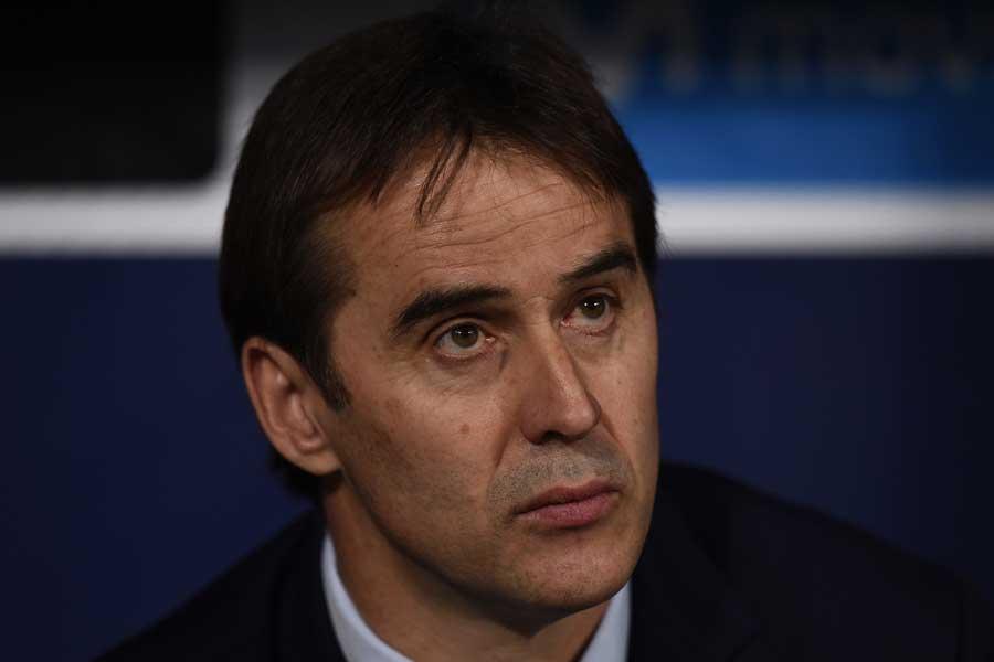 スペイン代表監督を電撃解任されたロペテギ氏【写真:Getty Images】