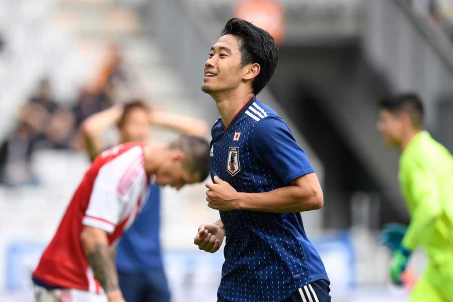 香川は1ゴール2アシストの活躍を見せた【写真:Getty Images】