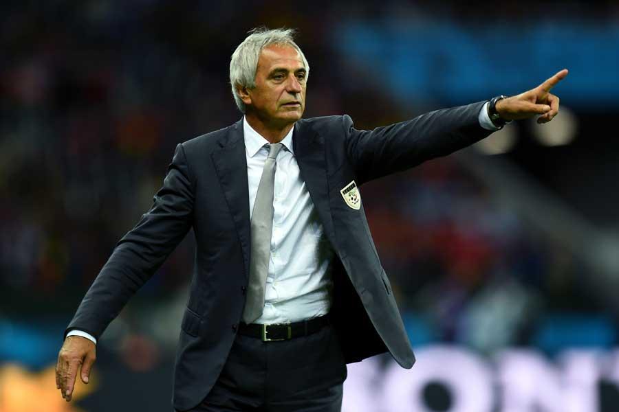 2014年のW杯で指揮を執ったハリルホジッチ氏に対し、アルジェリア代表が交渉を開始するようだ【写真:Getty Images】
