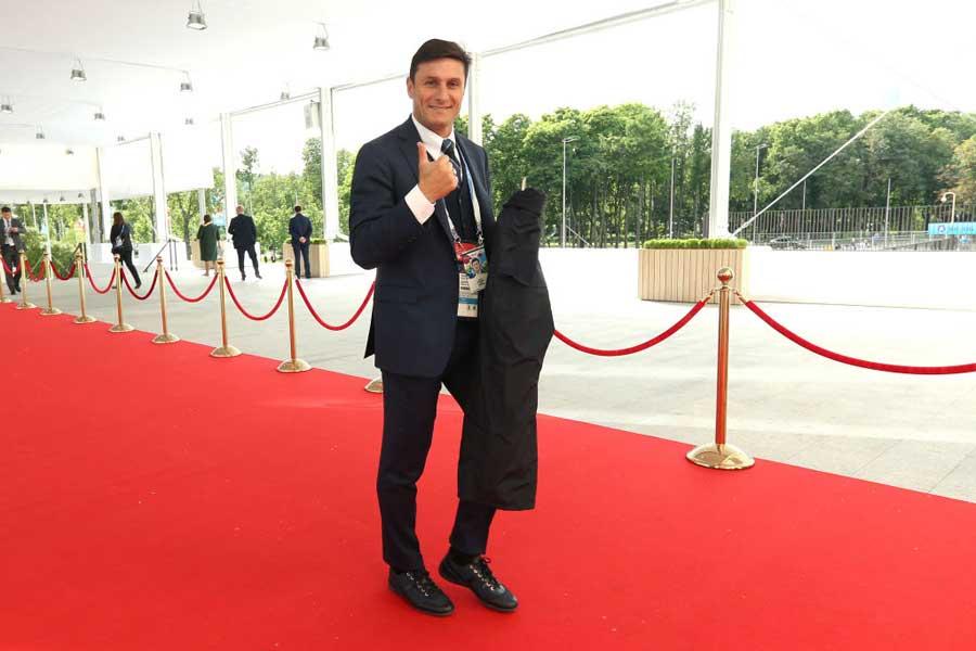 元アルゼンチン代表のサネッティ氏が母国代表について言及した【写真:Getty Images】