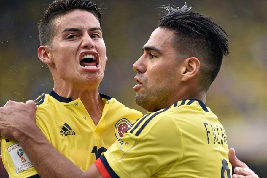 タレント揃いのコロンビア代表は、「チームとしてまとまったら怖い」とチャン・ヒョンスは語った【写真:Getty Images】