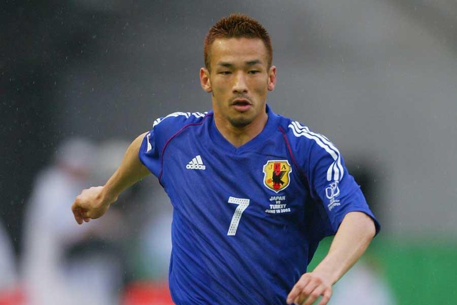 日本代表としてはW杯に3回出場した中田氏【写真:Getty Images】