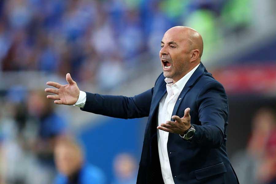 アルゼンチン代表のサンパオリ監督は、「無秩序さが足りなかった」と独特の表現で試合を振り返った【写真:Getty Images】