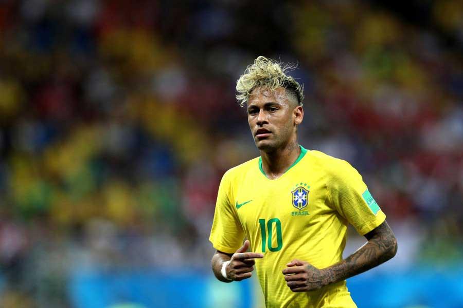ブラジル代表は、ネイマールに依存した攻撃で1点止まりとなった【写真:Getty Images】