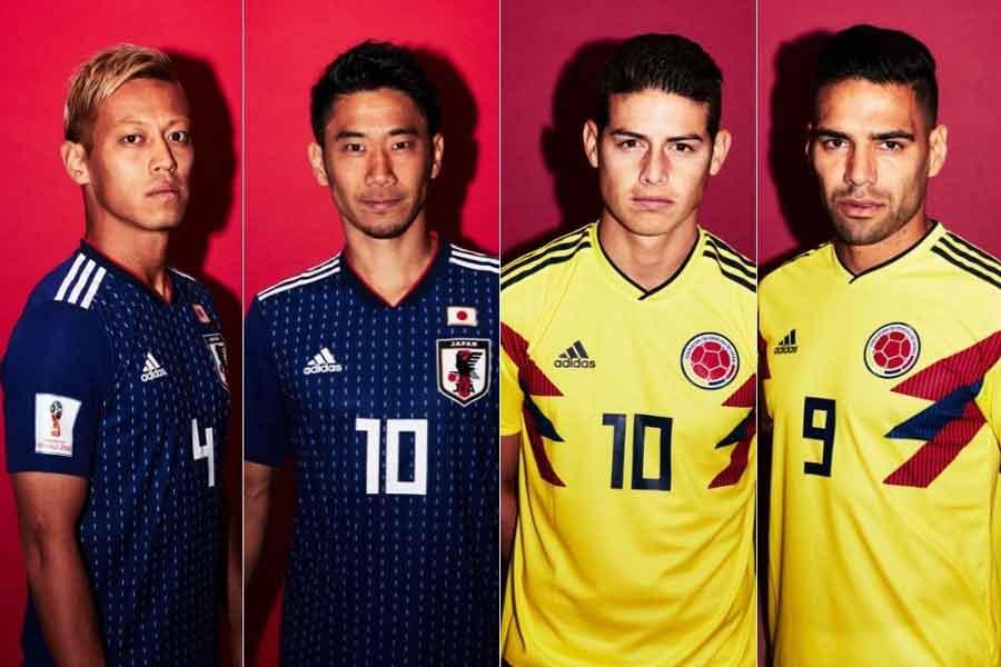 コロンビア対日本戦を前に、コロンビア紙が「キャプテン翼」の登場人物に例えて選手を紹介している【写真:Getty Images】