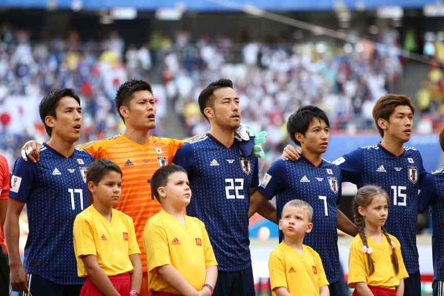 西野ジャパン、運命のW杯初戦は1-1で後半へ【写真:Getty Images】