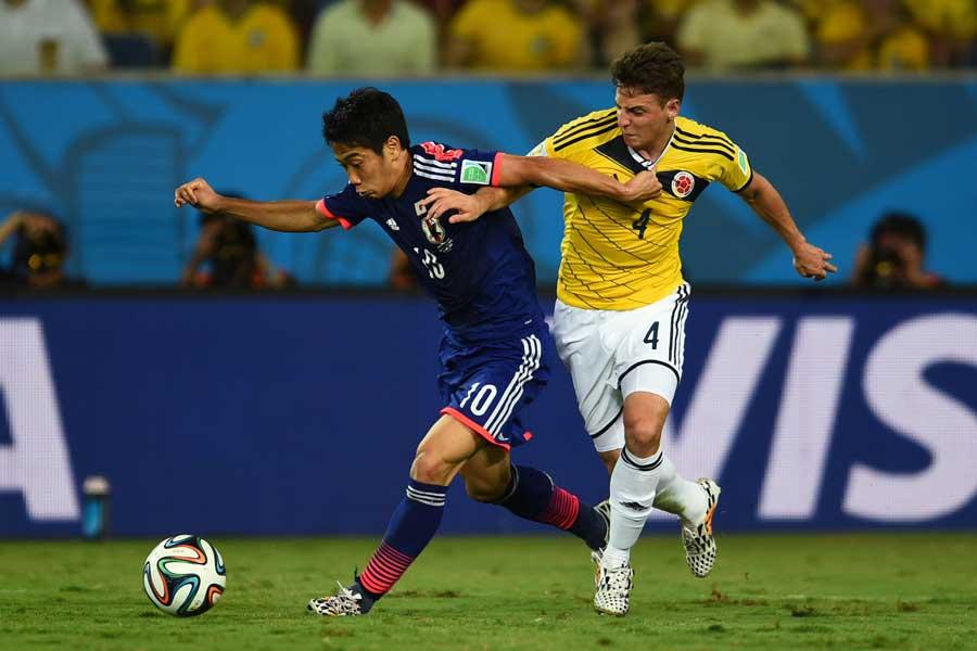 これまでW杯未勝利と日本にとって南米勢は鬼門となっている【写真:Getty Images】