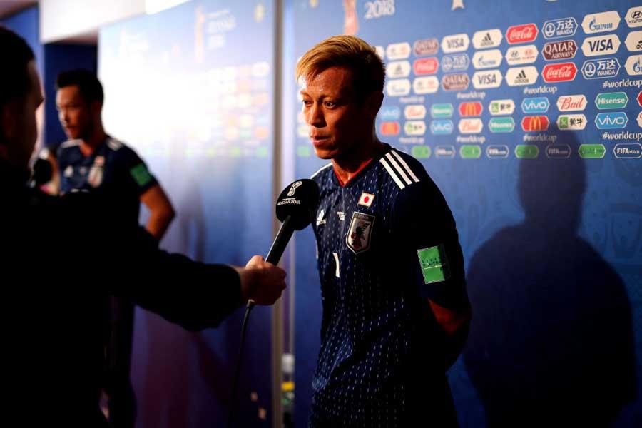 本田が名指しで太鼓判を押した日本の4選手とは?【写真:Getty Images】