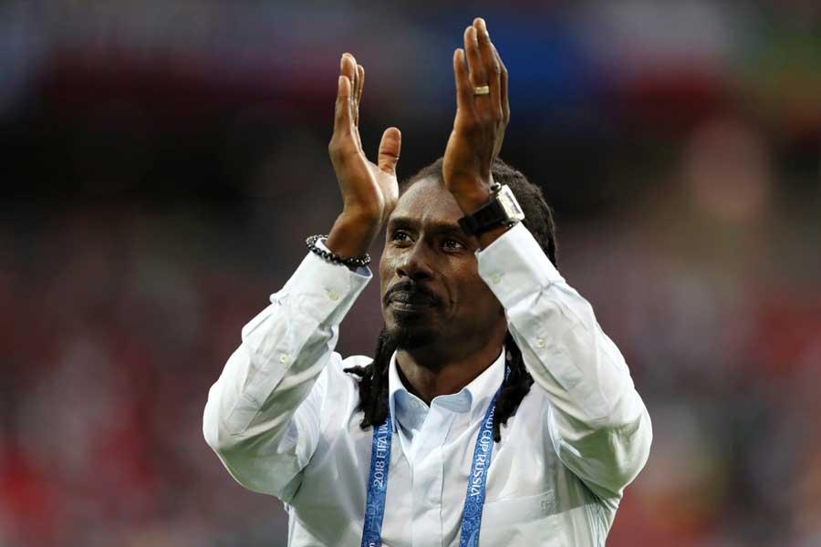 セネガル代表を率いるシセ監督が、今大きな話題となっている【写真:Getty Images】