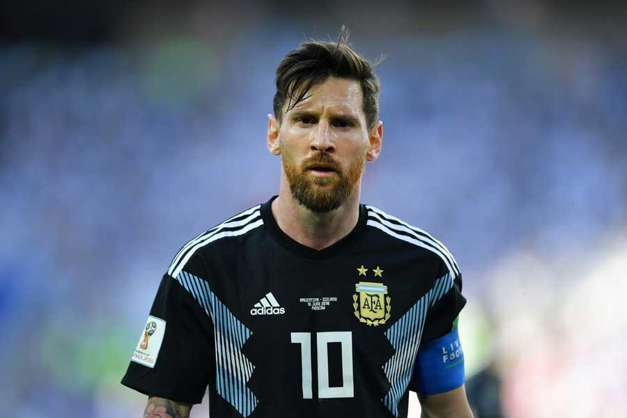 アルゼンチンの絶対的なエースであるメッシ【写真:Getty Images】